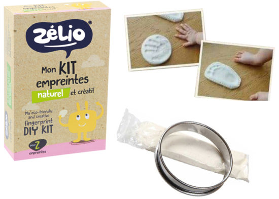 "Kit Empreintes Naturel ""Zélio"""