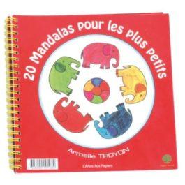 Cahier 20 Mandalas Plus Petits