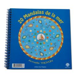 Cahier 20 Mandalas de la mer