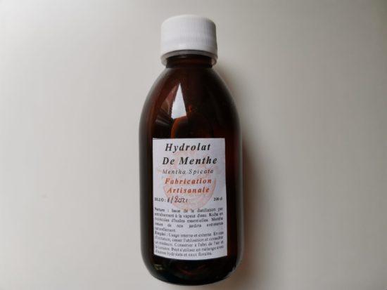 Hydrolat de menthe Artisanal