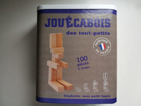 """Jeux de construction des tout-petits """"mécabois"""""""