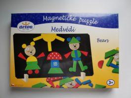 """Puzzle magnétique ours """"detoa"""""""