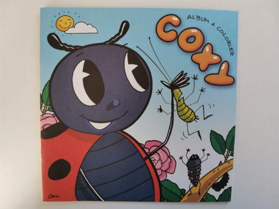 Cahier à colorier Coxy