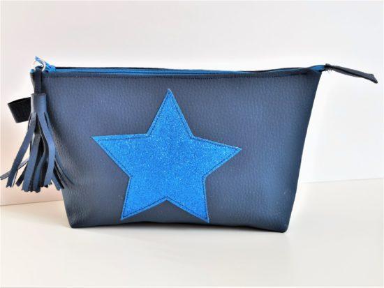 Trousse Artisanale bleu