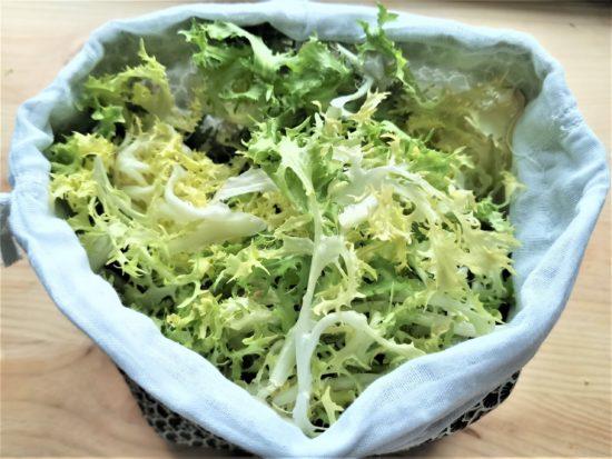 Sac à salade réutilisable