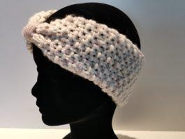 Bandeau laine blanc