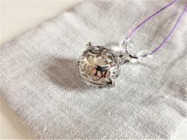 Collier minéral de grossesse pierre de lune