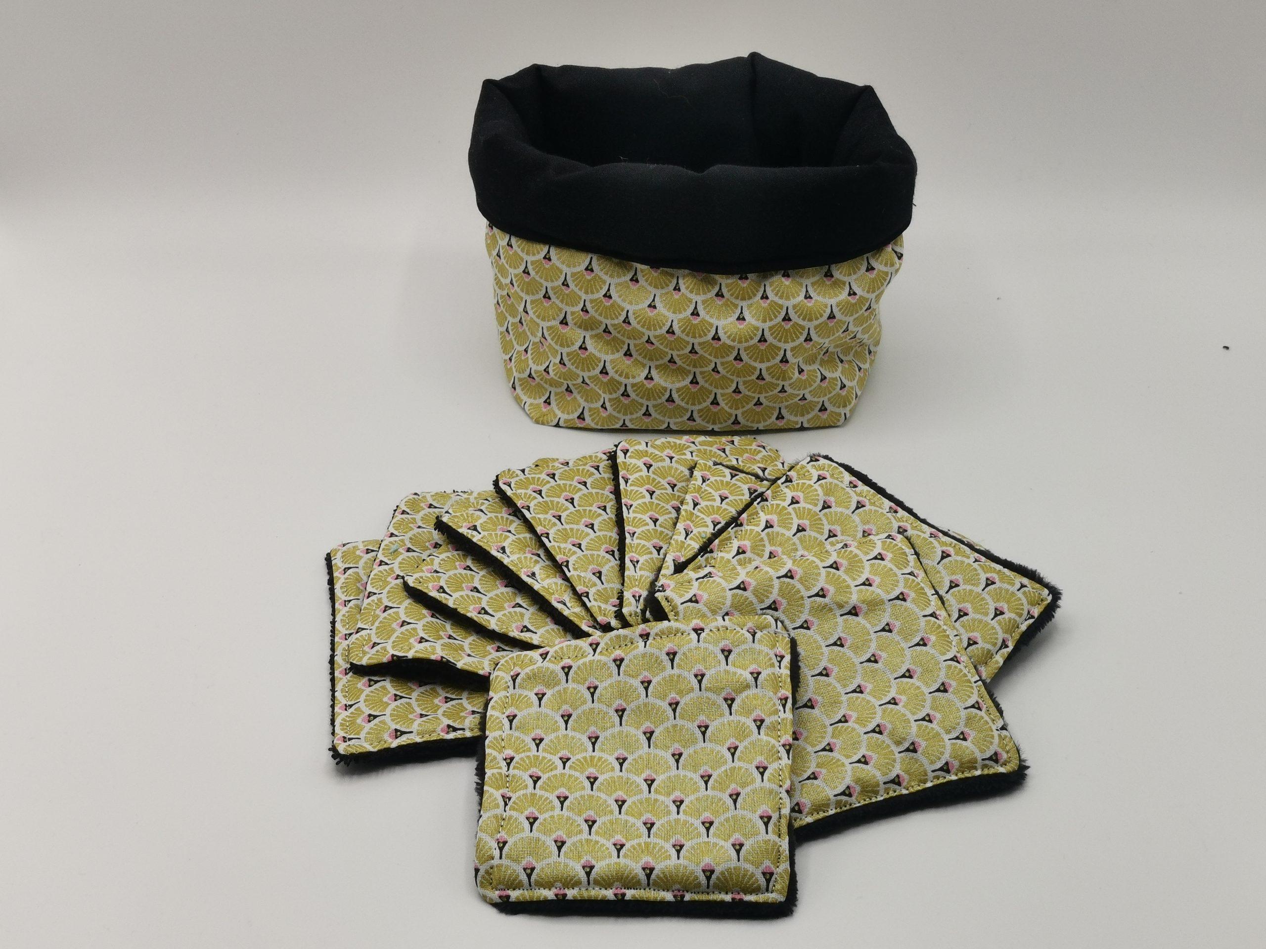 Lingettes lavables étincelles Artisanale