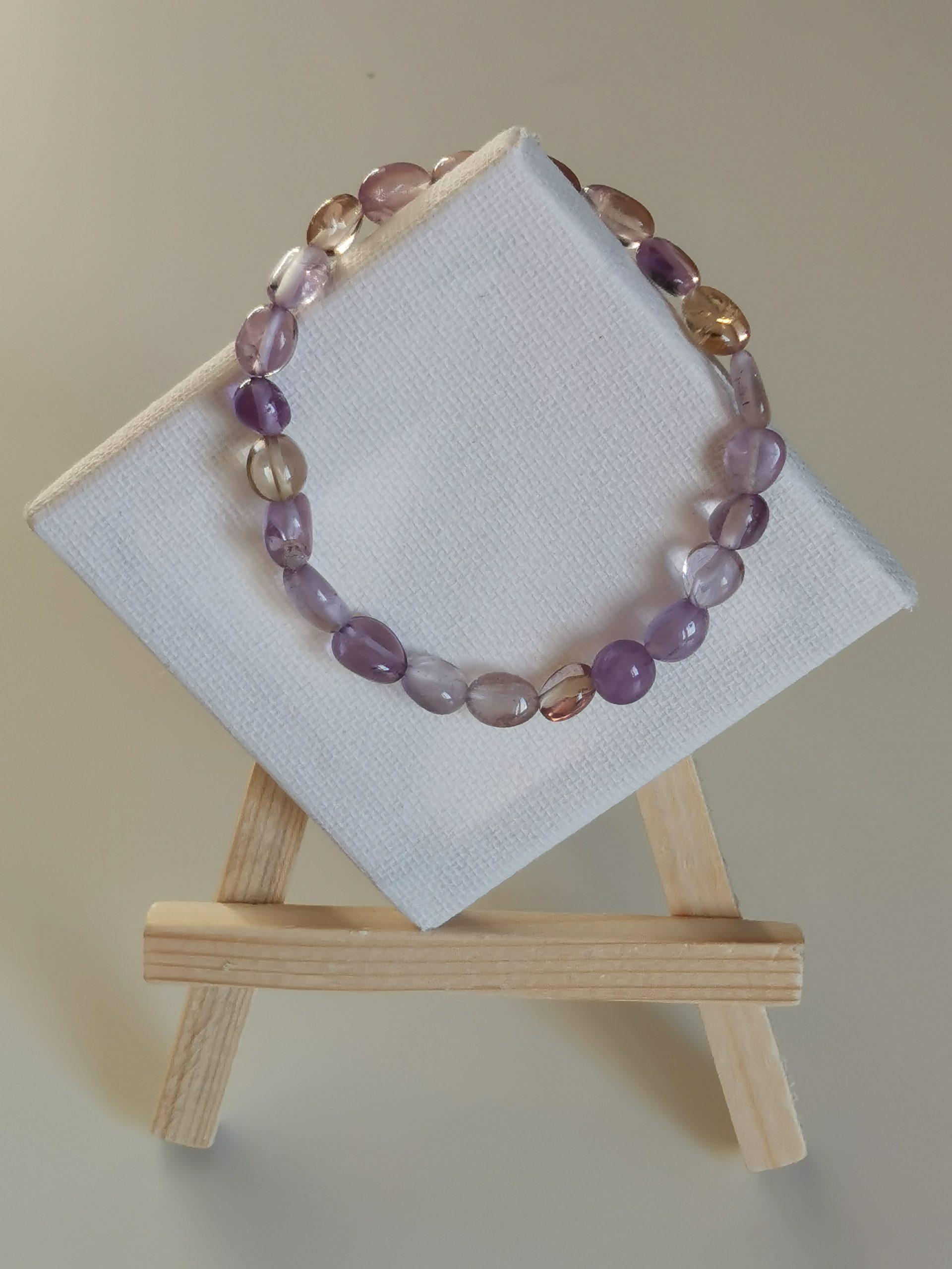 Bracelet amétrine