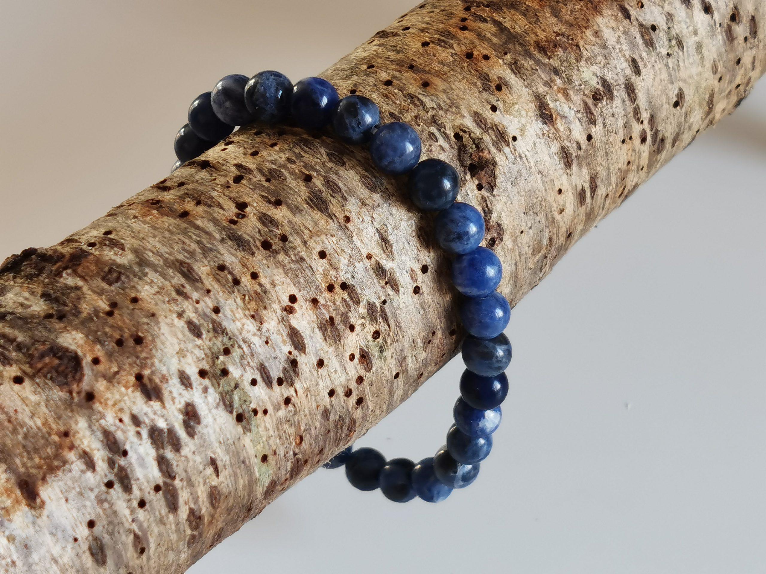 Bracelet Sodalite perle