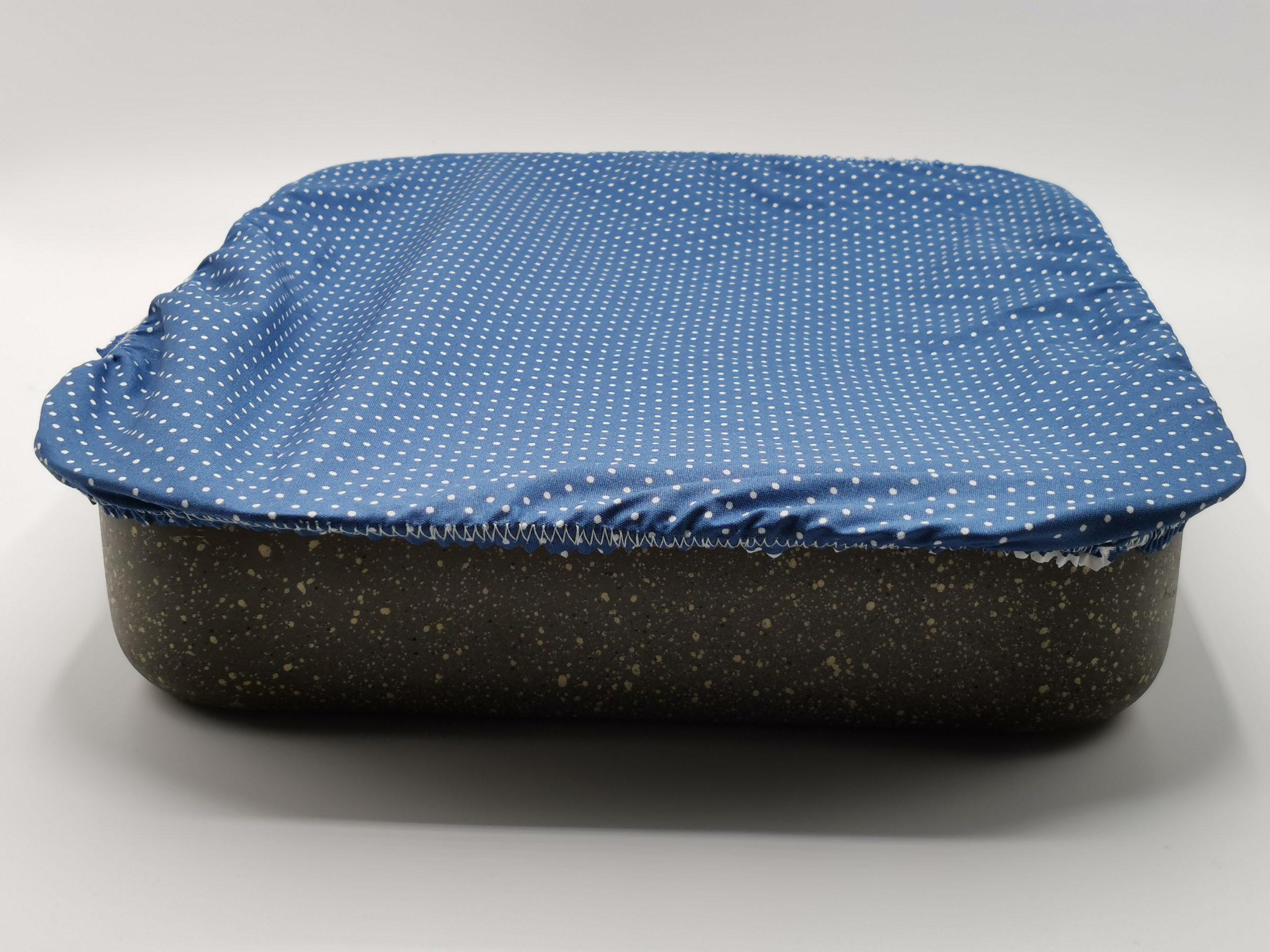 Charlotte couvre plat rectangle de 40 X 30 cm
