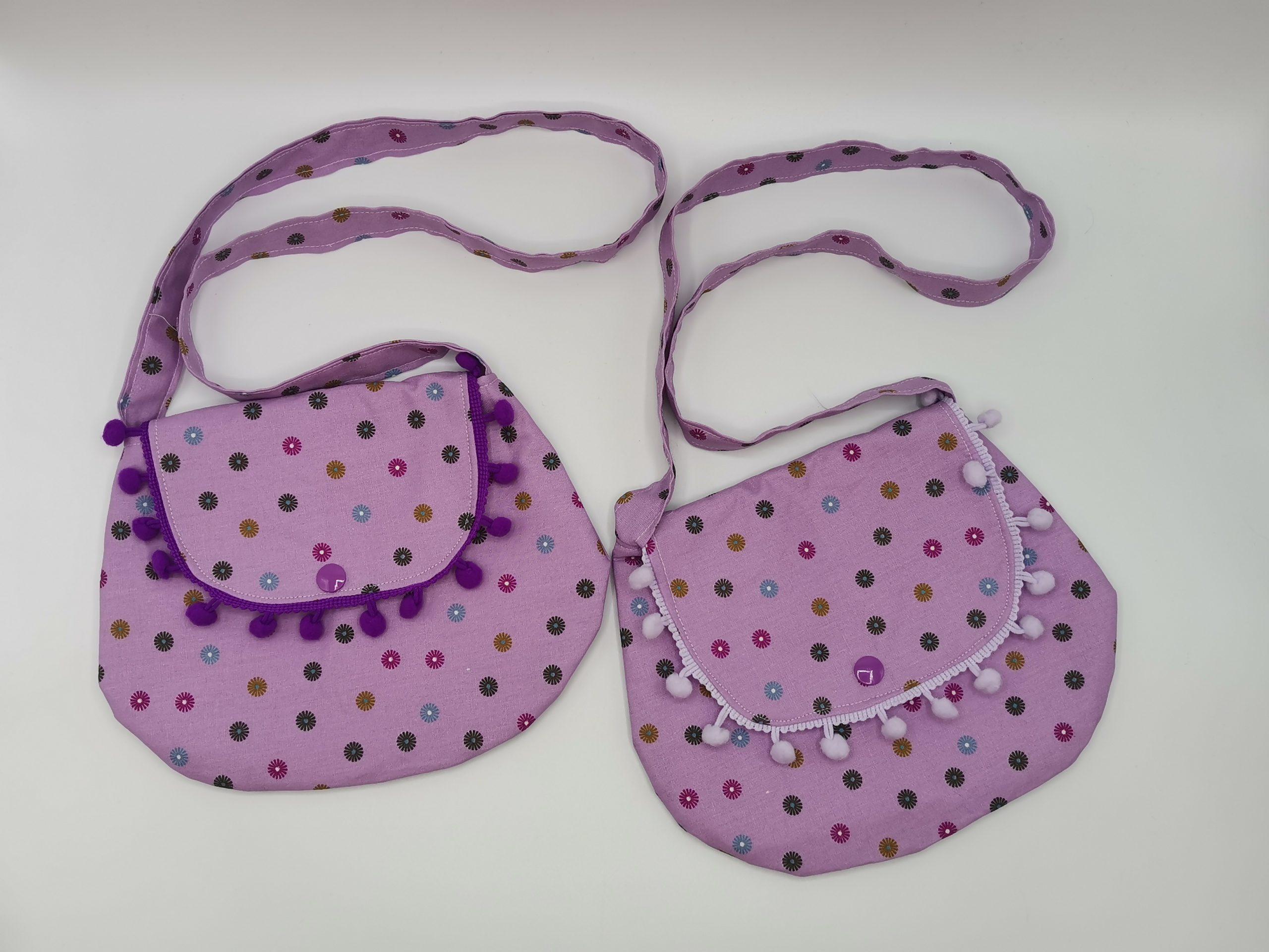 Sac bandoulière violet