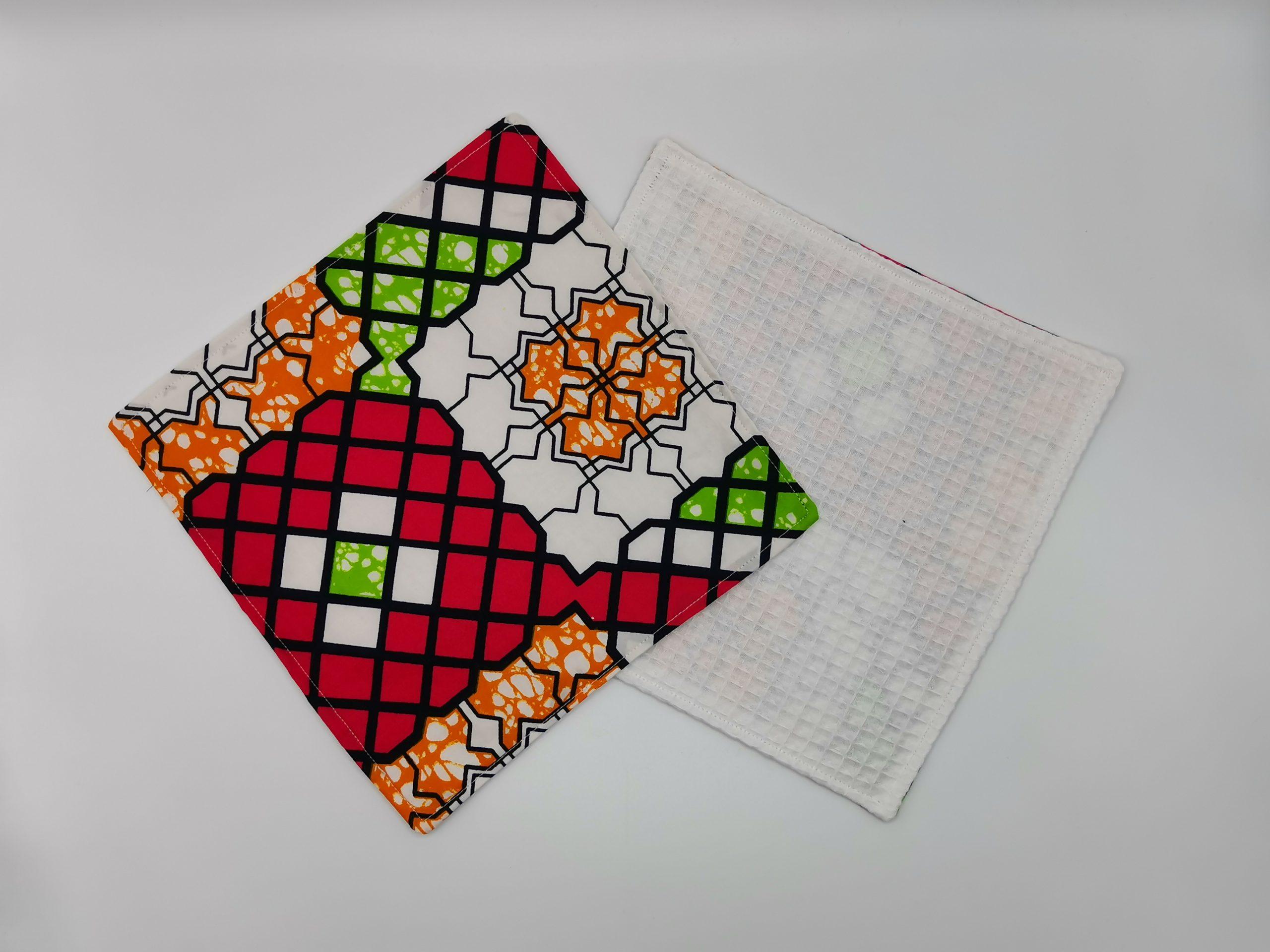 Serviette de table multi couleur